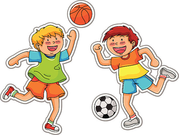 Playing with friends clipart 1 » Clipart Station.