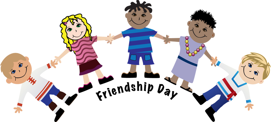 Happy Friendship Day Clipart.