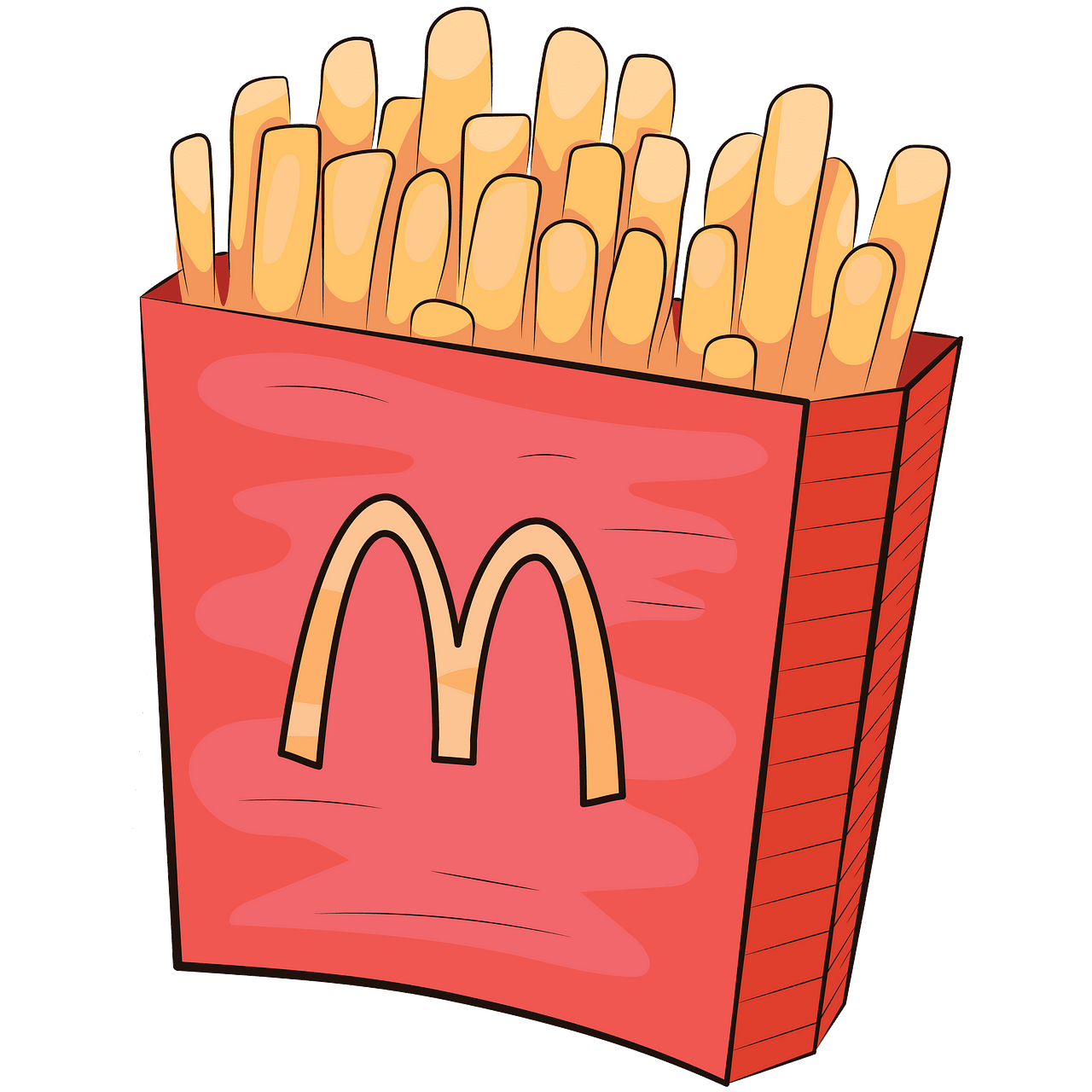 French fries clipart. Free download..