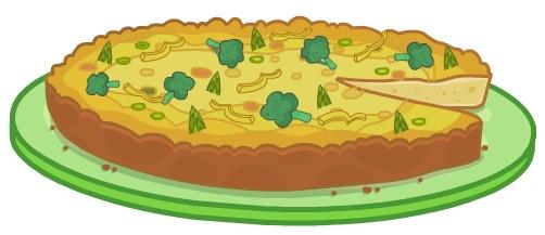 Very Veggie Frittata Recipe.