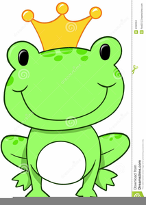 Frog Prince Clipart Free.