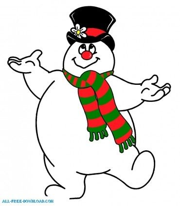 Frosty The Snowman Clipart Images.