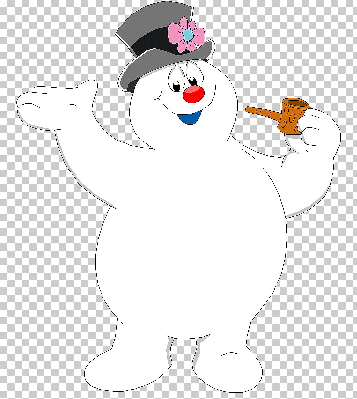 Frosty the Snowman Christmas Animation, snowman PNG clipart.