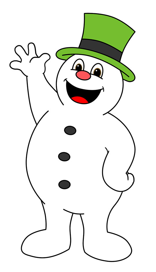 9+ Frosty The Snowman Clipart.