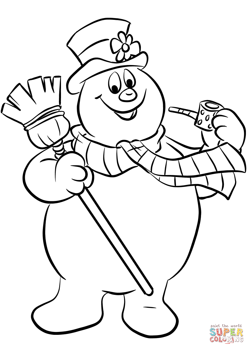 Snowman black and white frosty snowman clipart black and white.