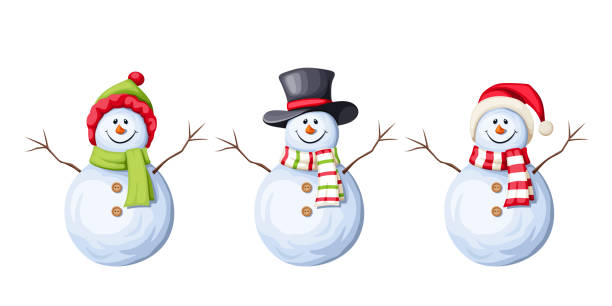 Best Frosty The Snowman Illustrations, Royalty.
