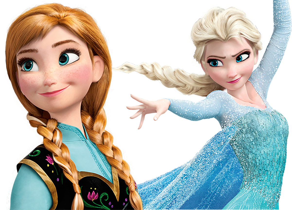 Frozen PNG Images Transparent Cliparts.