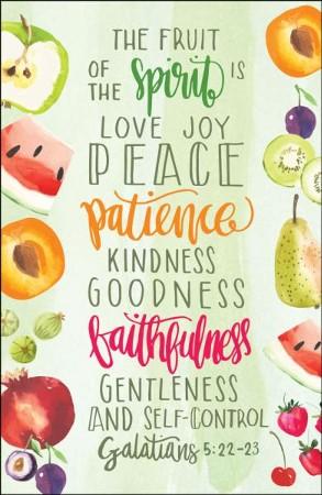 Fruit of the Spirit (Galatians 5:22.