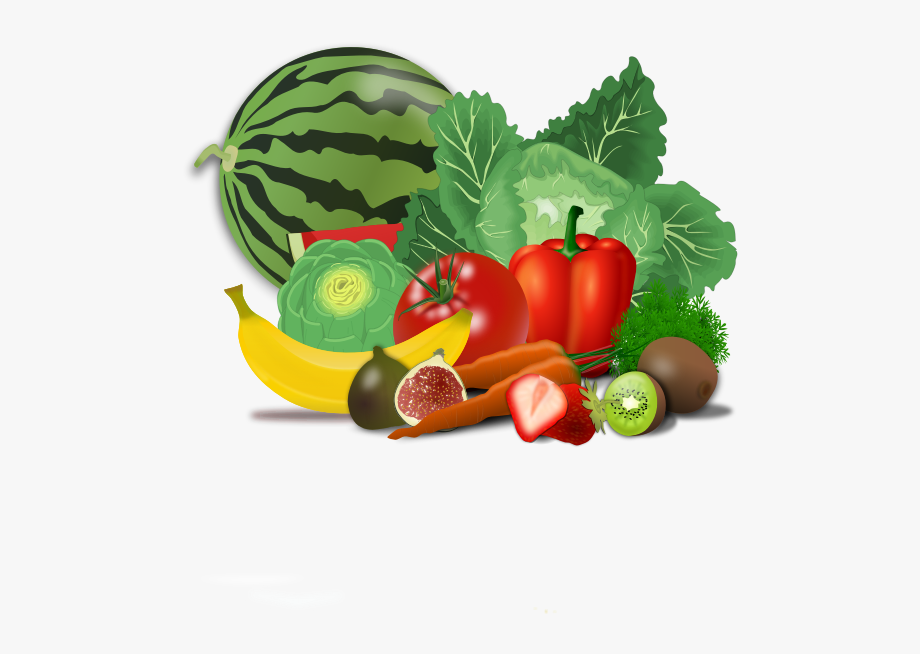Healty Food Fruit Clip Art.