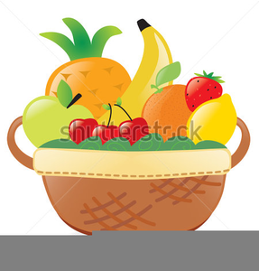 Fruits Vegetables Clipart.