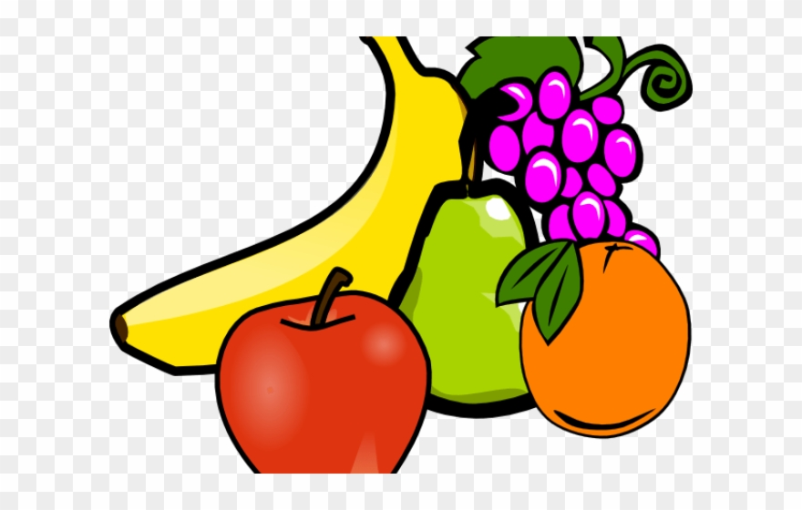 Snack Clipart Fruit Vegetable.
