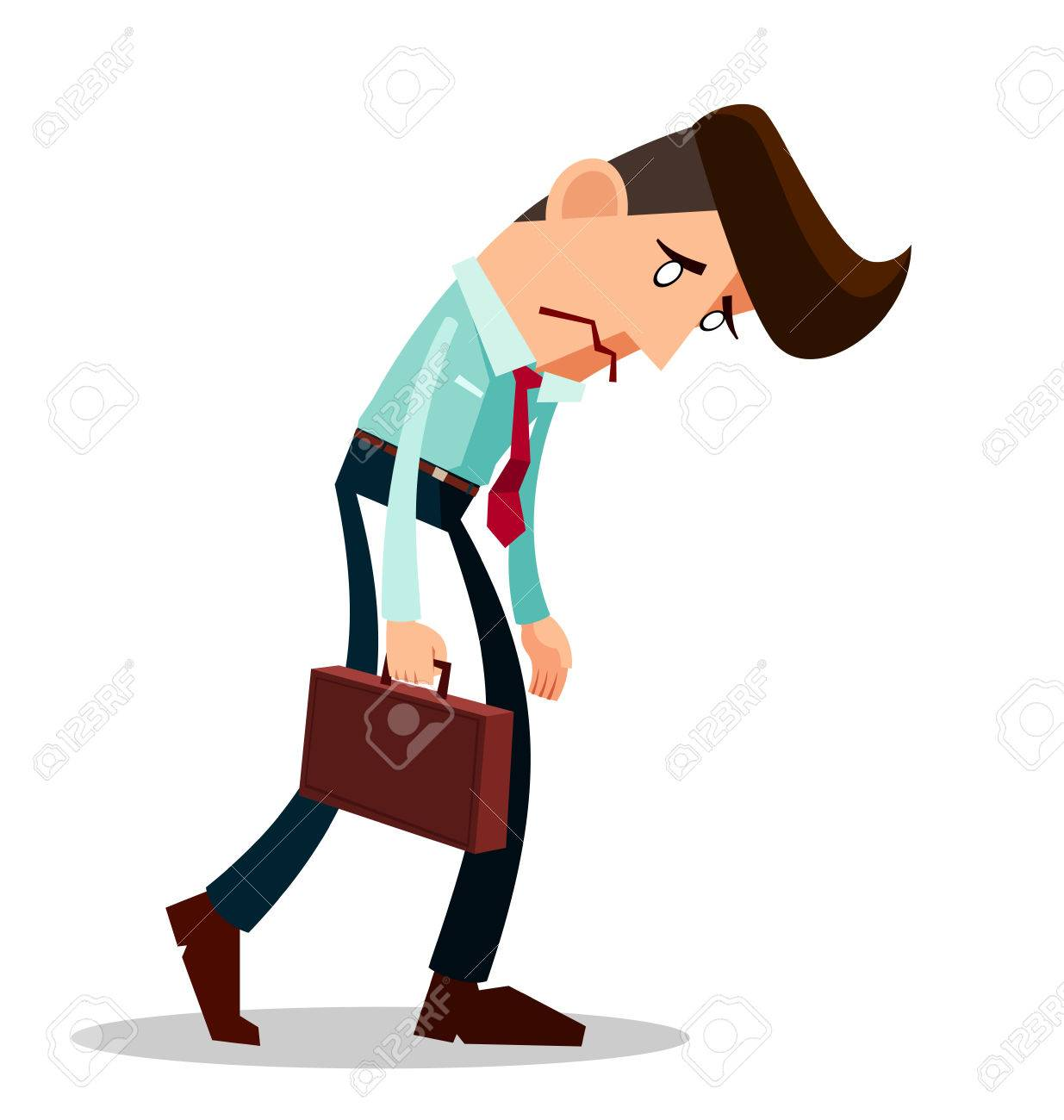 Frustrated Employee Clipart & Clip Art Images #17444.
