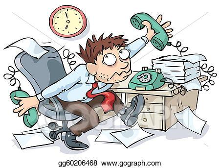 Clipart frustrated office worker 1 » Clipart Portal.