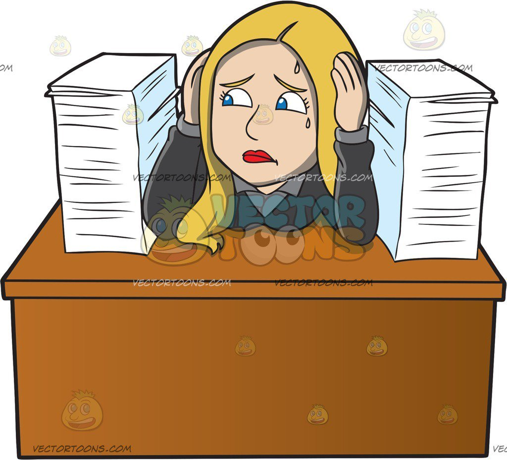 Clipart frustrated office worker » Clipart Portal.