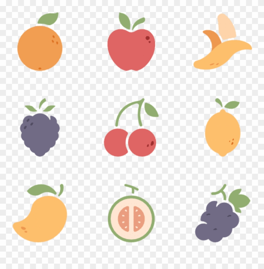 Fruit Icons Free Fruits.