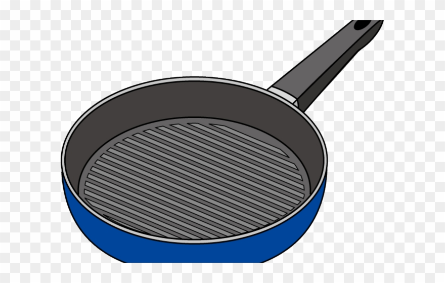 Frying Pan Clipart Baking Tray.