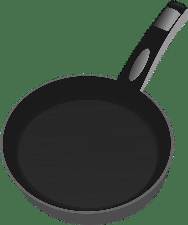 Cooking Pan Clipart transparent PNG.