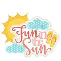 Fun in the sun clipart 4 » Clipart Station.