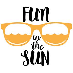Fun In The Sun Clipart.