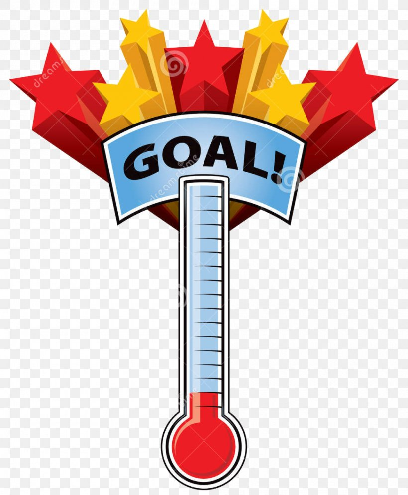 Fundraising Thermometer Goal Clip Art, PNG, 1000x1213px.
