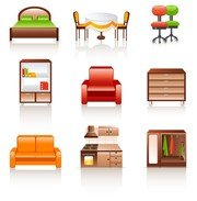 Free Furniture Clipart and Vector Graphics.