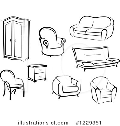 Furniture Clipart #1229351.