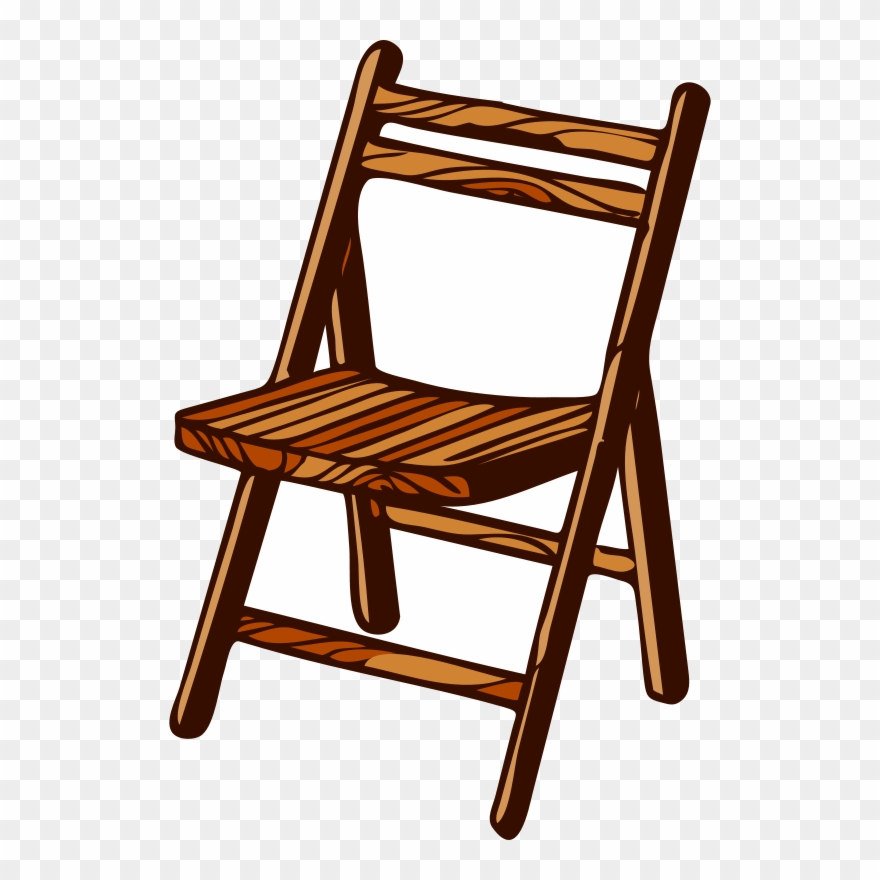 Folding Chair Furniture Wood Bench.