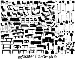 Furniture Clip Art.