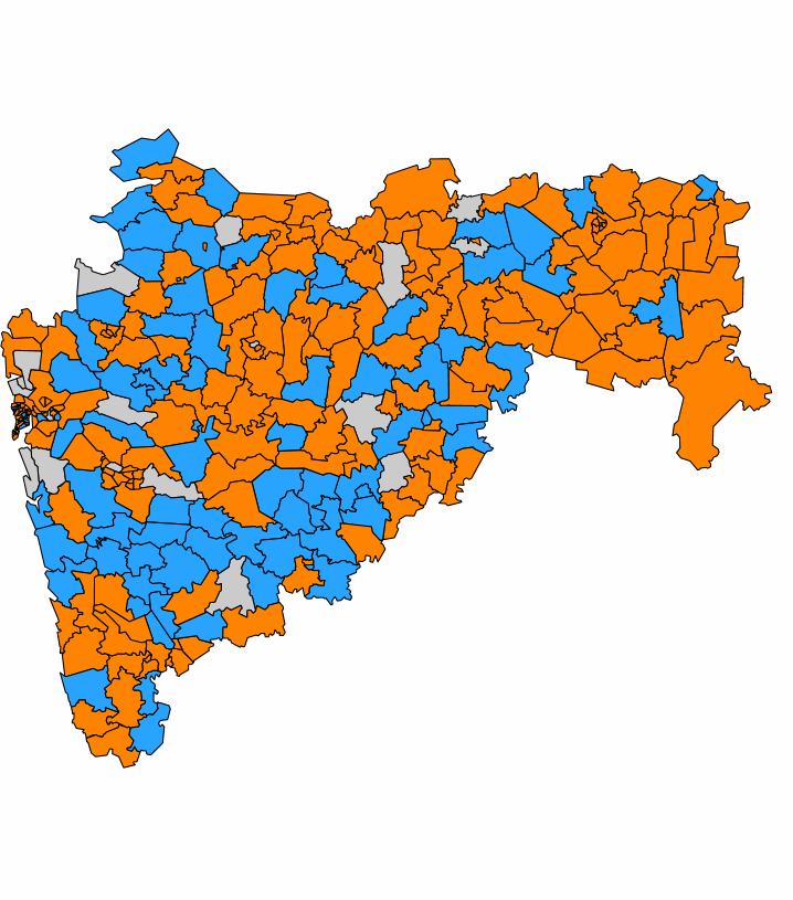 Live 2019 vs 2014 Party Wise Maharashtra Assembly Election.