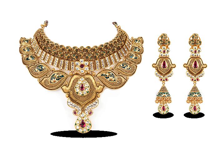Jewellery Necklace Gold Jewelry design.