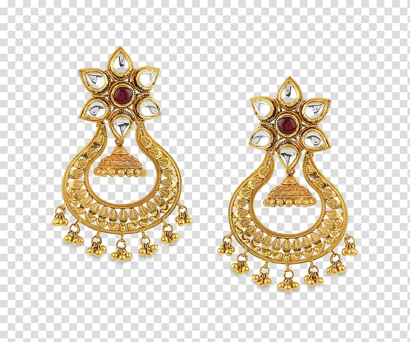 Earring Jewellery Gold Jewelry design Charms & Pendants.