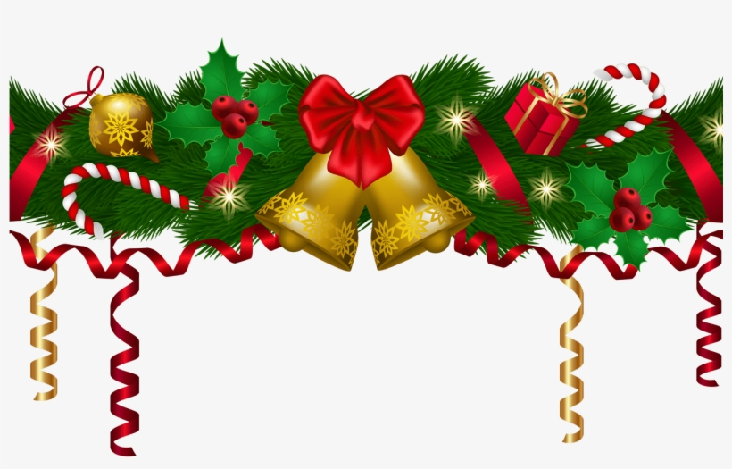 Christmas Deco Garland Png Clip Art Image Gallery.