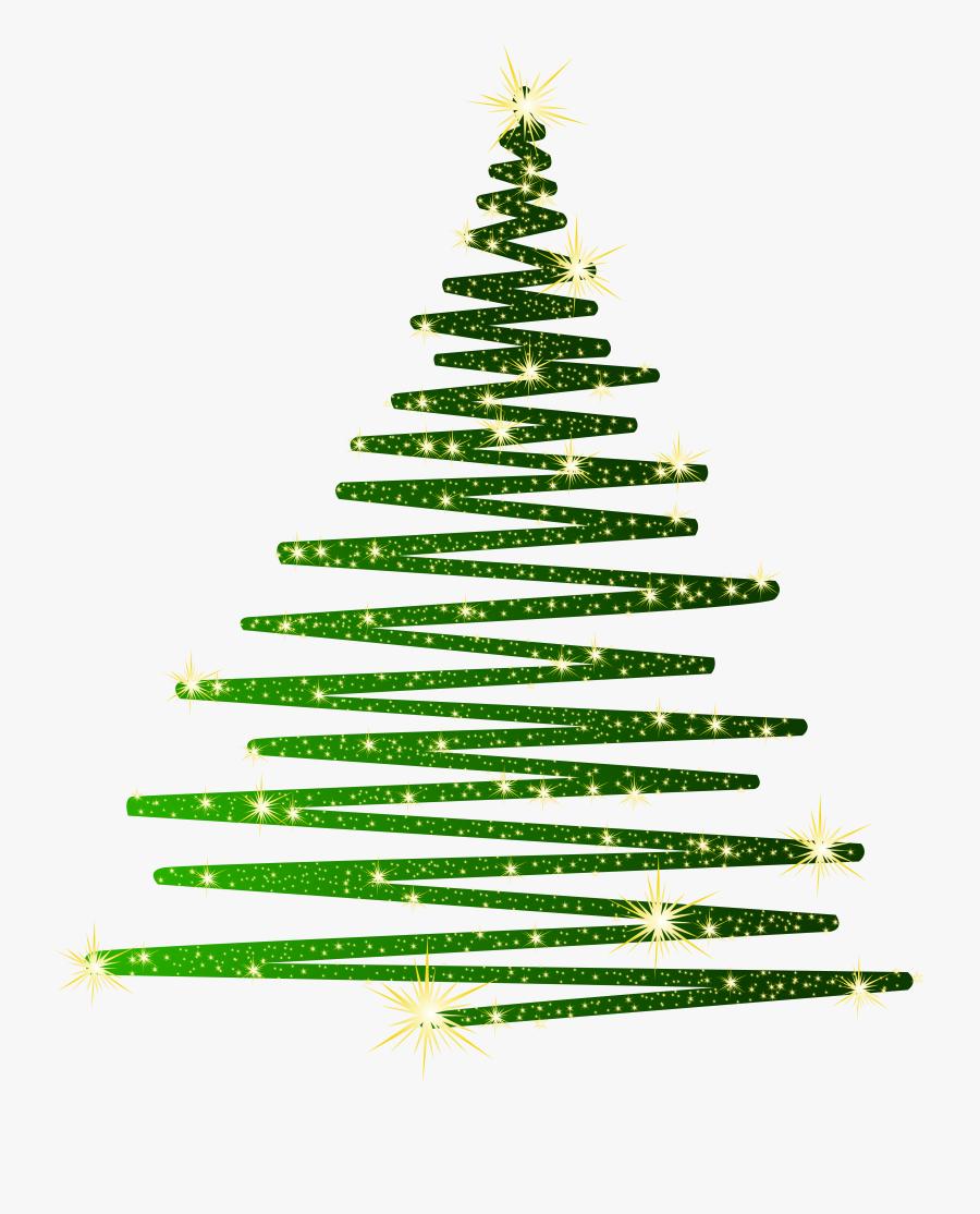 Green Christmas Shining Tree Png Clipartu200b Gallery.