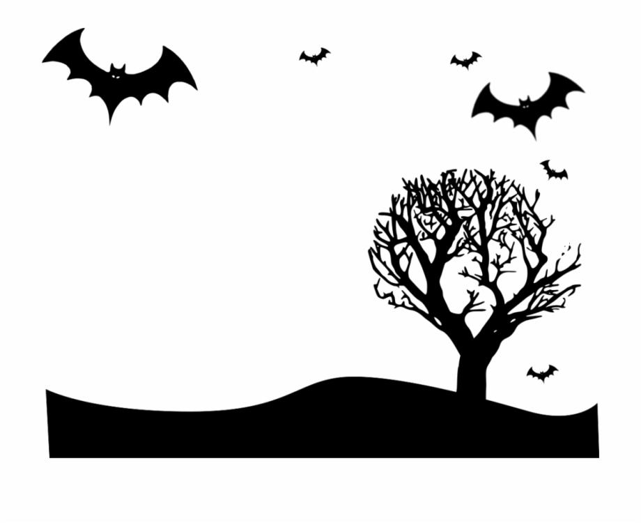 Halloween Vector Free Transparent Images Halloween Landscape.