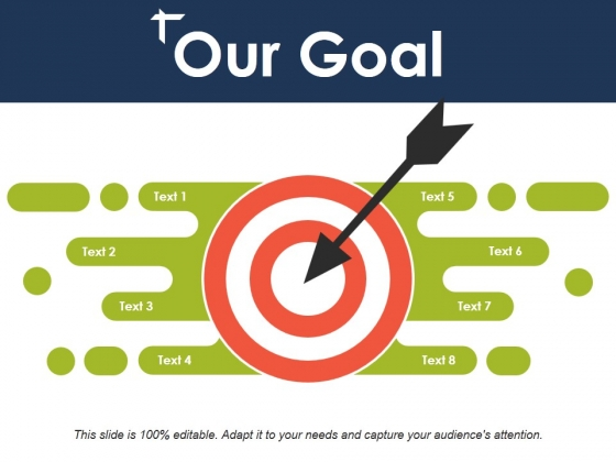 Our Goal Ppt PowerPoint Presentation Gallery Clipart.
