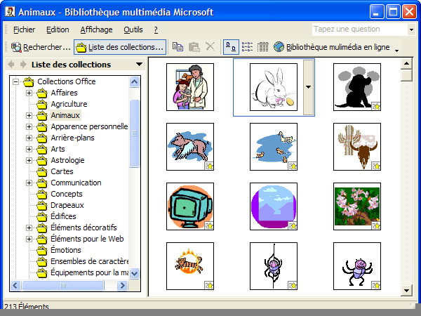 Microsoft Office Clipart Gallery Live.