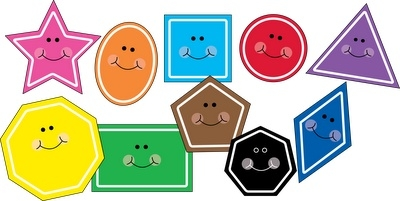 Clipart Images Of Shapes.