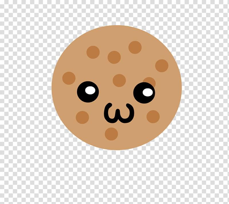 Galleta, round emoji illustration transparent background PNG.