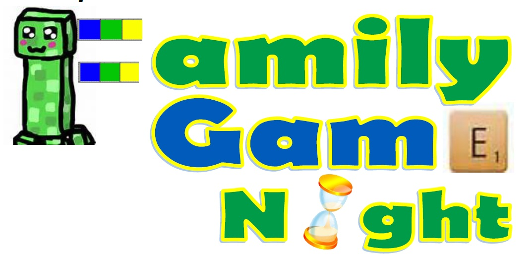 Family Game Night Clipart Png.