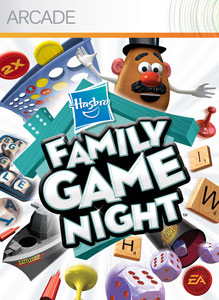 Free Clipart Family Game Night.