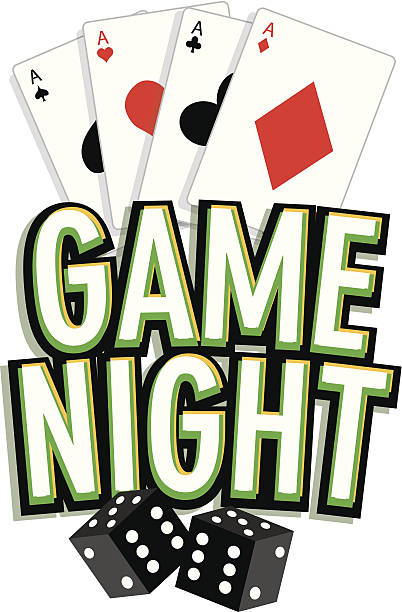 Game Night Clip Art, Vector Images & Illustrations.