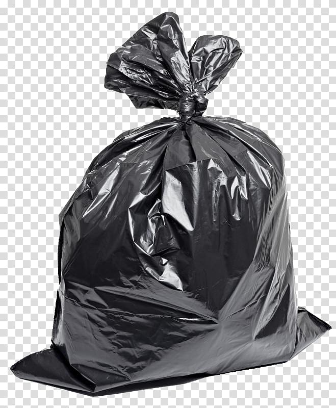 Gray garbage bag, Plastic bag Bin bag Rubbish Bins & Waste.