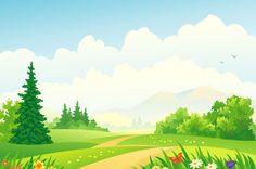 Background clipart garden, Background garden Transparent.