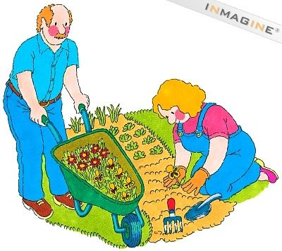 Vegetable Garden Clipart.