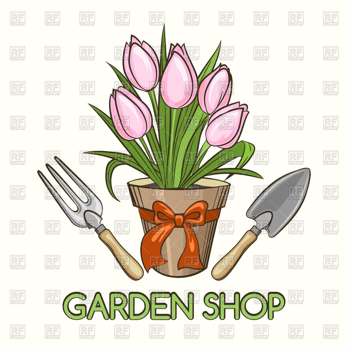 Garden Centre Clipart.