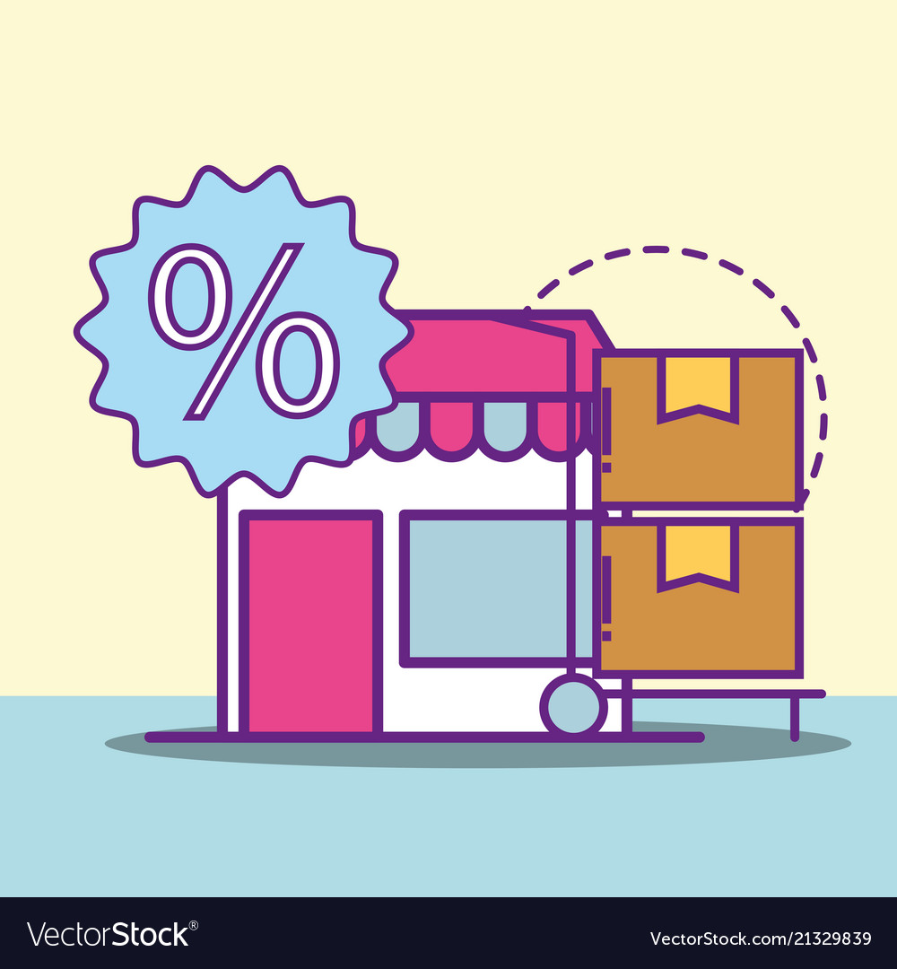 Buy online concept.