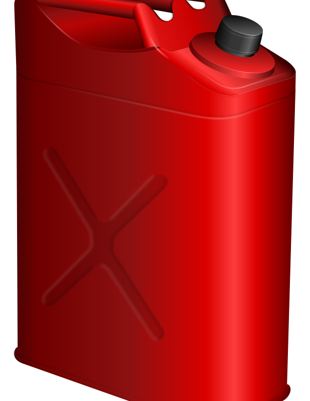 Free Clipart: Gas can.