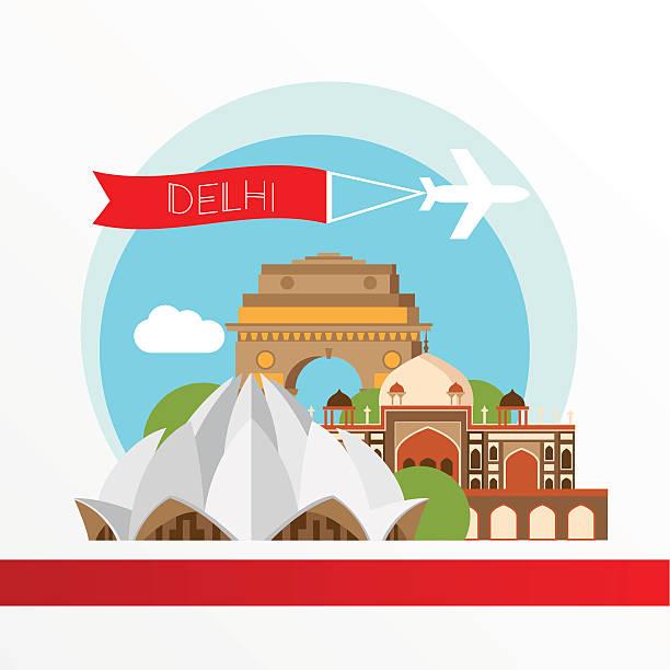 New Delhi Clipart.