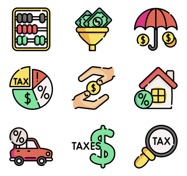 Bill payment Icons.