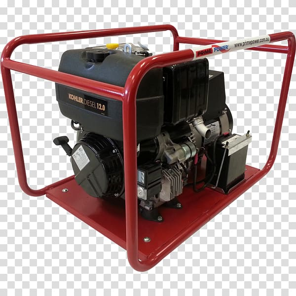 Electric generator Fuel Compressor Engine.